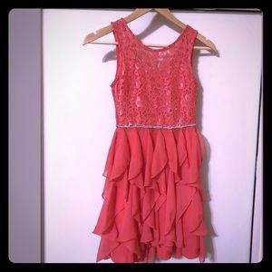 Emily West Party Dress Lace  Sz 10